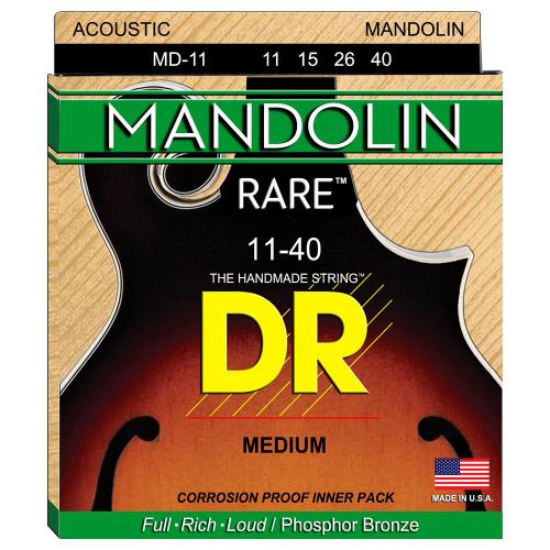 DR Strings Rare MD-11 (10-40) Mandoliinin kielisetti