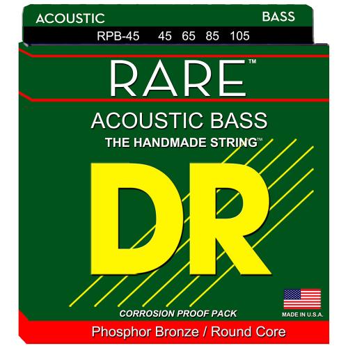 DR Strings Rare RPB-45 (45-105) Akustisen basson kielisetti