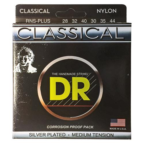 DR Strings Nylon Classical RNS PLUS (28-44) klassisen kitaran kielisetti