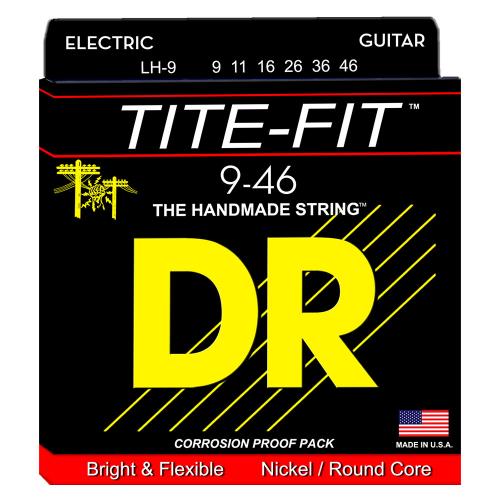 DR Strings Tite-Fit LH-9 (9-46) sähkökitaran kielisetti