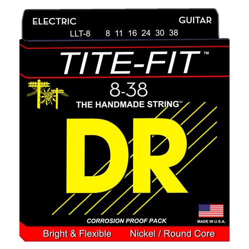 DR Strings Tite-Fit LLT-8 (8-38) Electric Guitar String Set