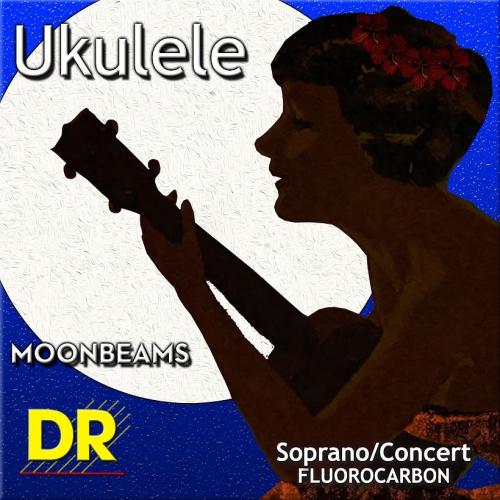 DR Strings Ukulele Moonbeams UFSC Ukulelen kielisetti