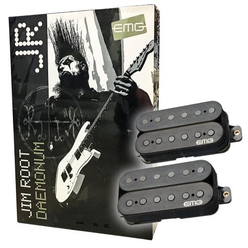 EMG JR Daemonum Set F-Spaced Black Guitar Pickups
