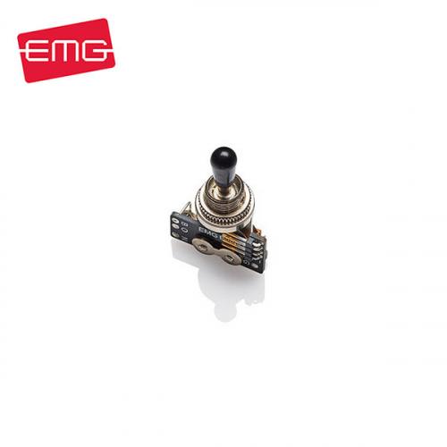 EMG 3-Way Toggle Switch Black Knob