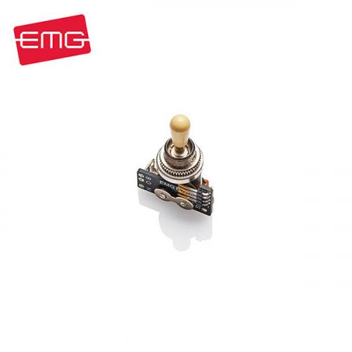 EMG 3-Way Toggle Switch Ivory Knob