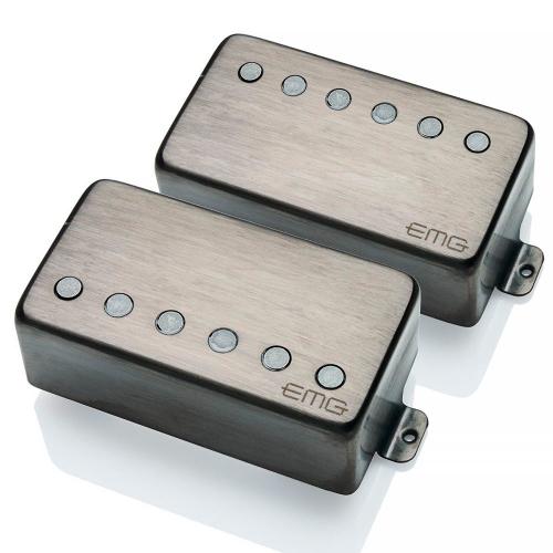 EMG 57/66 TW Set Brushed Black Chrome kitaramikrofonisetti