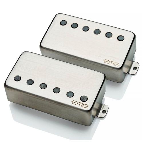 EMG 57/66 TW F-Spaced Set Brushed Chrome kitaramikrofonisetti