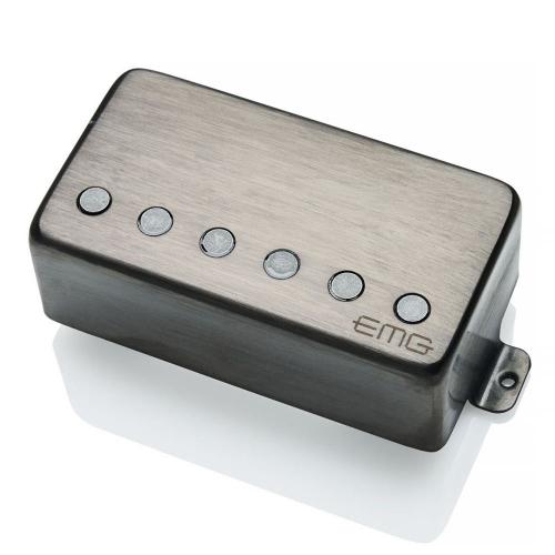 EMG 57 F-Spaced Brushed Black Chrome kitaramikrofoni