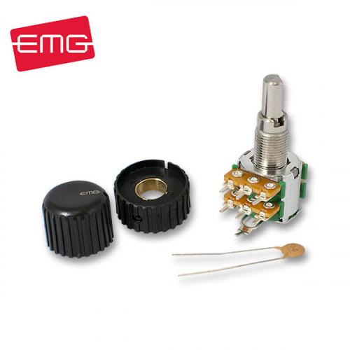 EMG 25k A25KX2 Stacked Dual Volume Pot Solid Potikka