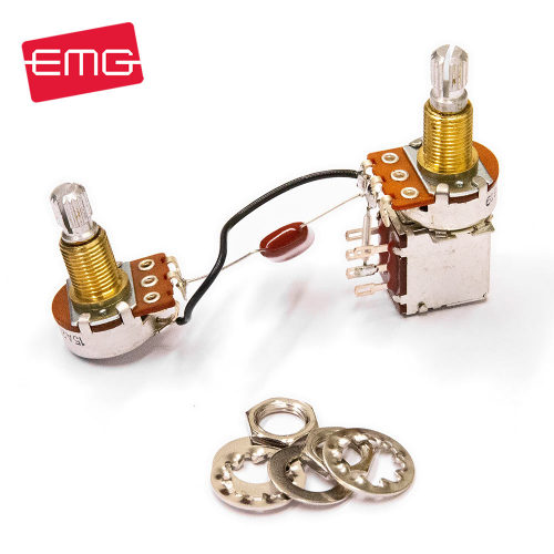 EMG 25k Pre-Wired Push Pull Volume & Tone Split Potikkasetti