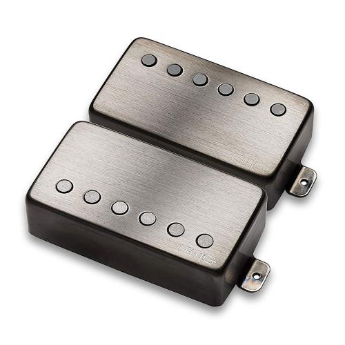EMG JH HET Set Brushed Black Chrome Guitar Pickups