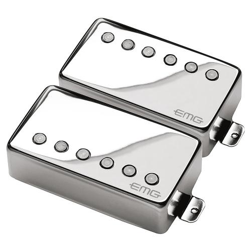 EMG JH HET Set Chrome Guitar Pickups