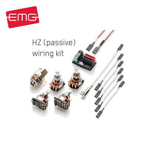 EMG 1 or 2 Pickups HZ Wiring Kit