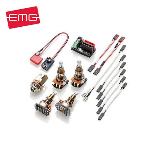 EMG 1 or 2 Pickups Wiring Kit Long Shaft