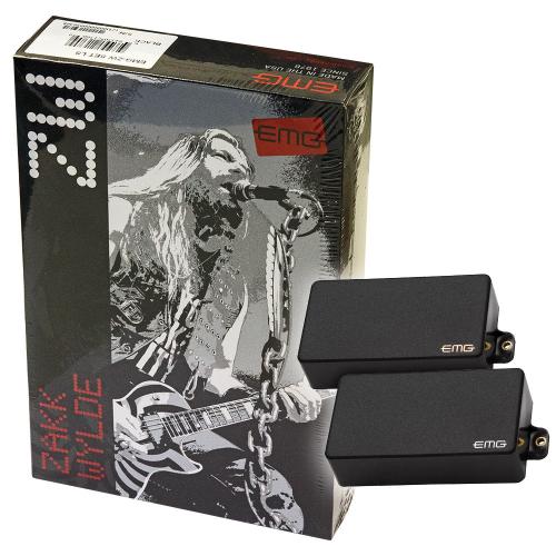 EMG ZW Set Black Guitar Pickups