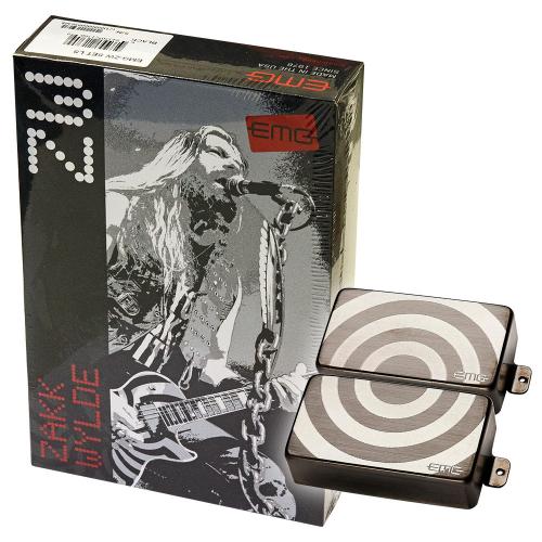 EMG ZW Bullseye Set Brushed Black Chrome Guitar Pickups