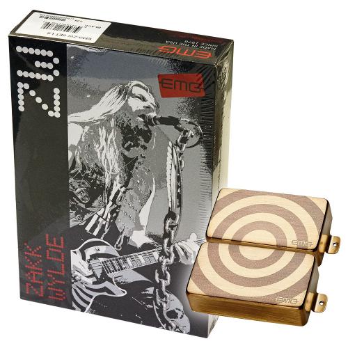 EMG ZW Bullseye Set Brushed Gold Guitar Pickups