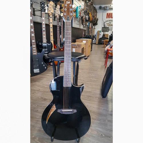 ESP LTD TL-6 Black Electric-Acoustic Guitar (USED)
