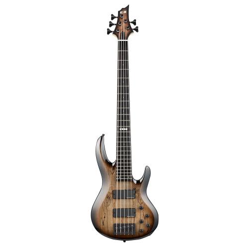 ESP E-II BTL-5 Black Natural Burst 5-String Electric Bass