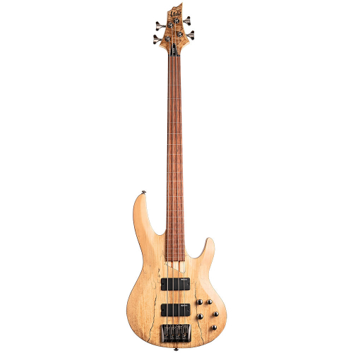 ESP LTD B-204SM Fretless Natural Satin Electric Bass