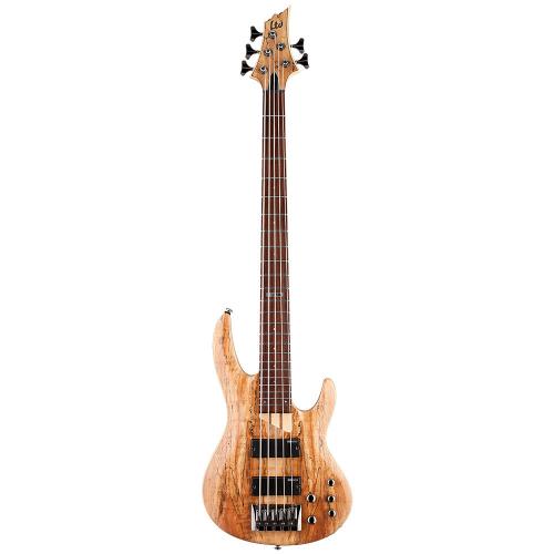 ESP LTD B-205SM See Thru Black Satin 5-String Electric Bass