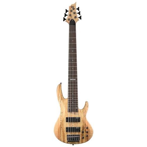 ESP LTD B-206SM Natural Satin 6-String Electric Bass