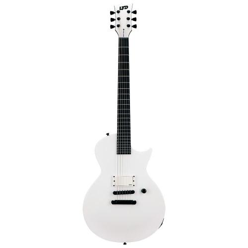 ESP LTD EC Arctic Metal Snow White Satin Electric Guitar