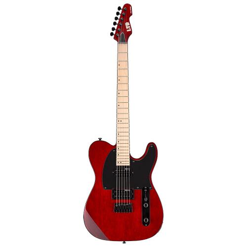 ESP LTD TE-200 See Thru Black Cherry Electric Guitar