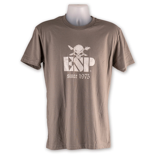 ESP Since 1975 Tee Sand Grey Shirt L