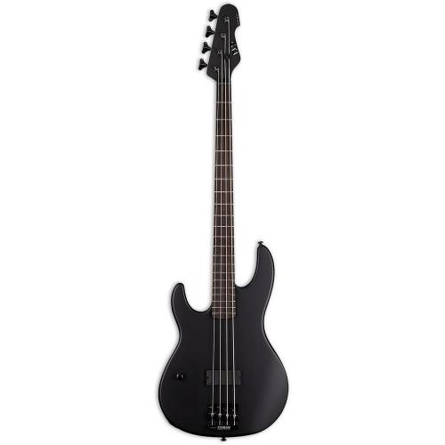 ESP LTD AP-4 Black Metal LH Black Satin Left-Handed Electric Bass