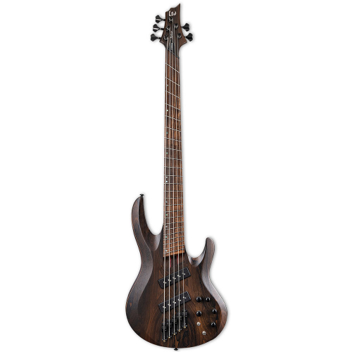 ESP LTD B-1005 Multi-Scale Natural Satin 5-String Electric Bass