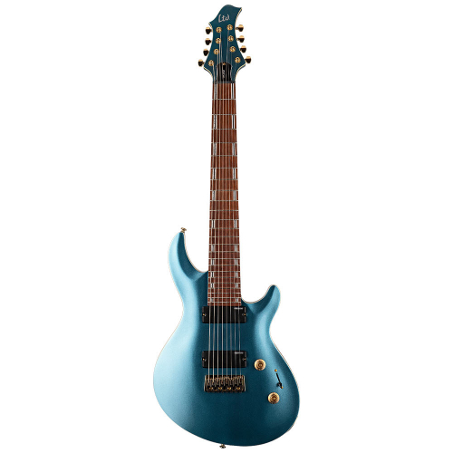 ESP LTD JR-208 Pelham Blue 8-String Electric Guitar