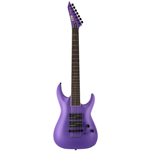 ESP LTD SC-607 Baritone Purple Satin 7-String Electric Guitar