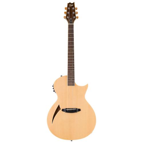 ESP LTD TL-6 Natural Electric-Acoustic Guitar