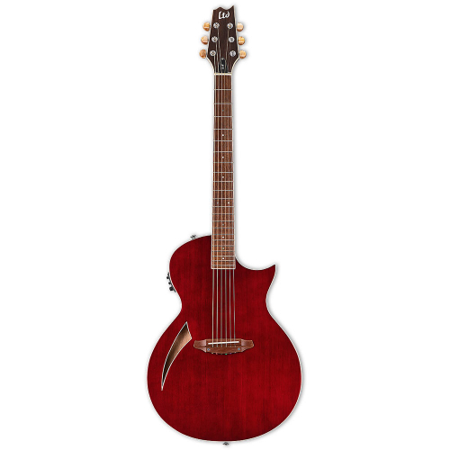ESP LTD TL-6 Wine Red Electric-Acoustic Guitar