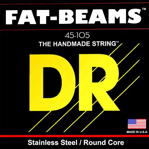DR Strings Fat Beams FB-45 (45-105) Electric Bass String Set
