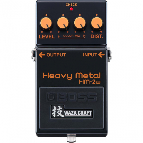 BOSS HM-2W Waza Craft Heavy Metal Distortion Pedal