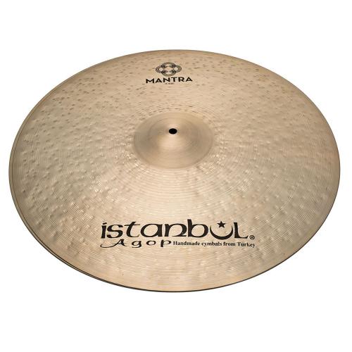 """ISTANBUL Cindy Blackman Signature Mantra Hi-Hat 15"""" Cymbals"""