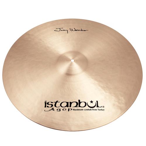 "ISTANBUL Joey Waronker Signature Ride 24"" Cymbal"