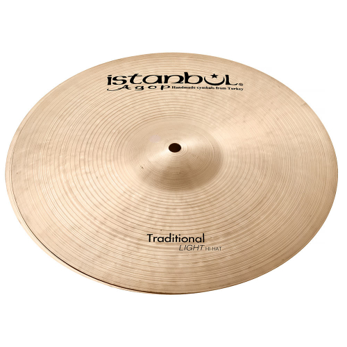"""Istanbul Traditional Light Hi-Hat 15"""" Cymbals"""