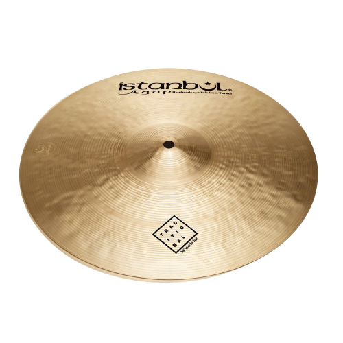 """Istanbul Traditional Jazz Hi-Hat 14"""" Cymbals"""