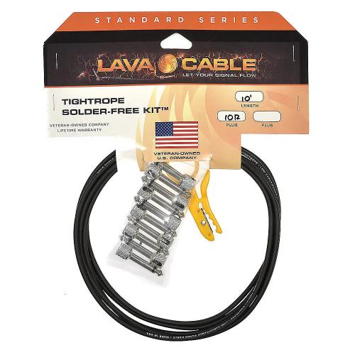 Lava Cable Tightrope Solder Free Pedalboard Kit Kaapelisarja