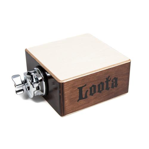 Loota Percussion Block Small Cocoa Bean