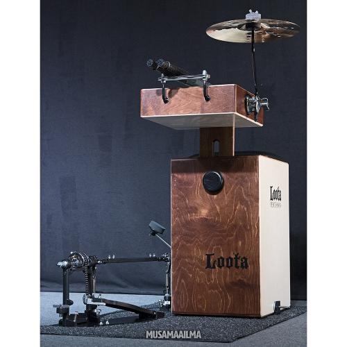 Loota Percussion Performer Cajon Set Bundle