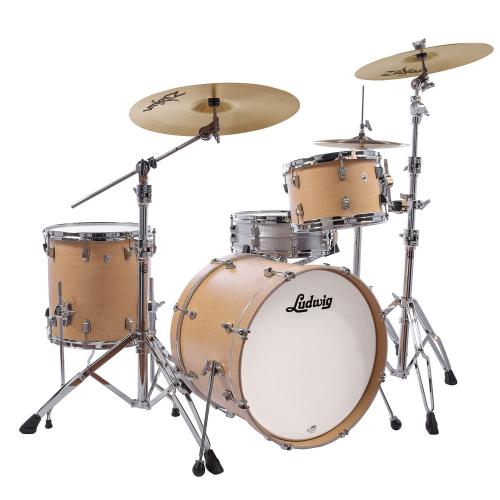 Ludwig NeuSonic 3pc 20 Sugar Maple Drum Set