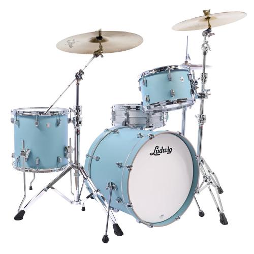 Ludwig NeuSonic 3pc 22 Skyline Blue Drum Set