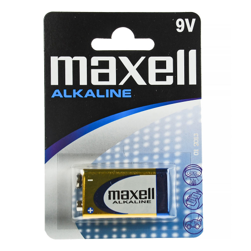 Maxell Alkaline 9V Battery