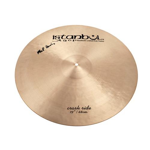 """ISTANBUL Mel Lewis Signature Crash Ride 19"""" Cymbal"""
