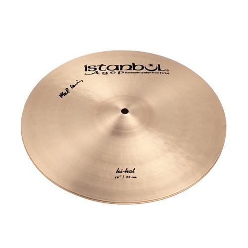 """ISTANBUL Mel Lewis Signature Hi-Hat 14"""" Cymbals"""