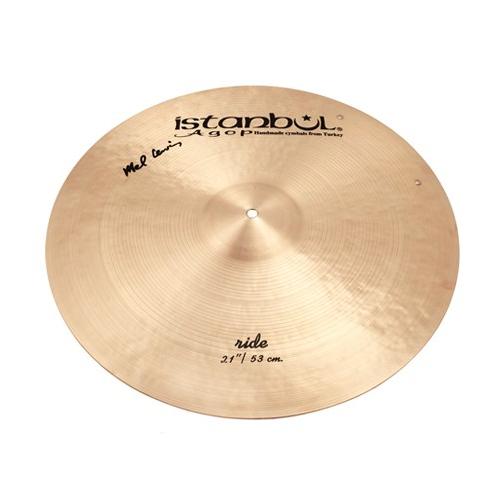 "ISTANBUL Mel Lewis Signature Ride 21"" Cymbal"